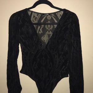 Black fashionnova bodysuit